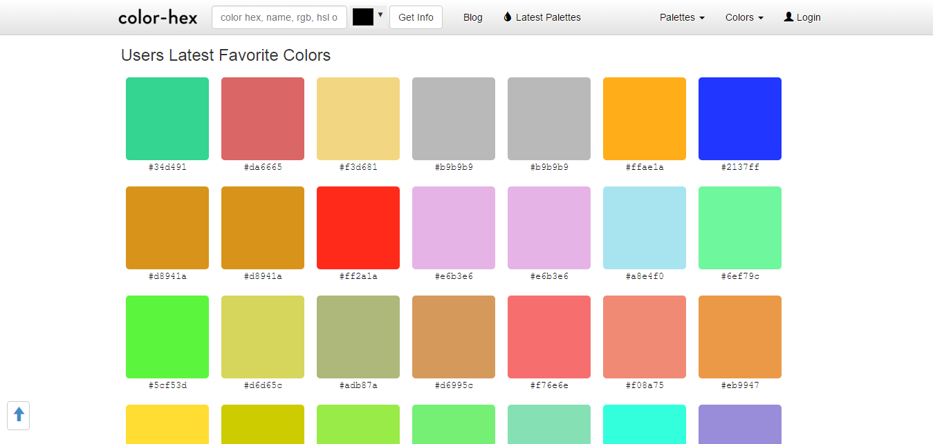 Find color inspiration in 21 apps color hex is here to make life easier for designers bringing to the table advanced color information various palettes and generating a simple css code for nvjuhfo Image collections
