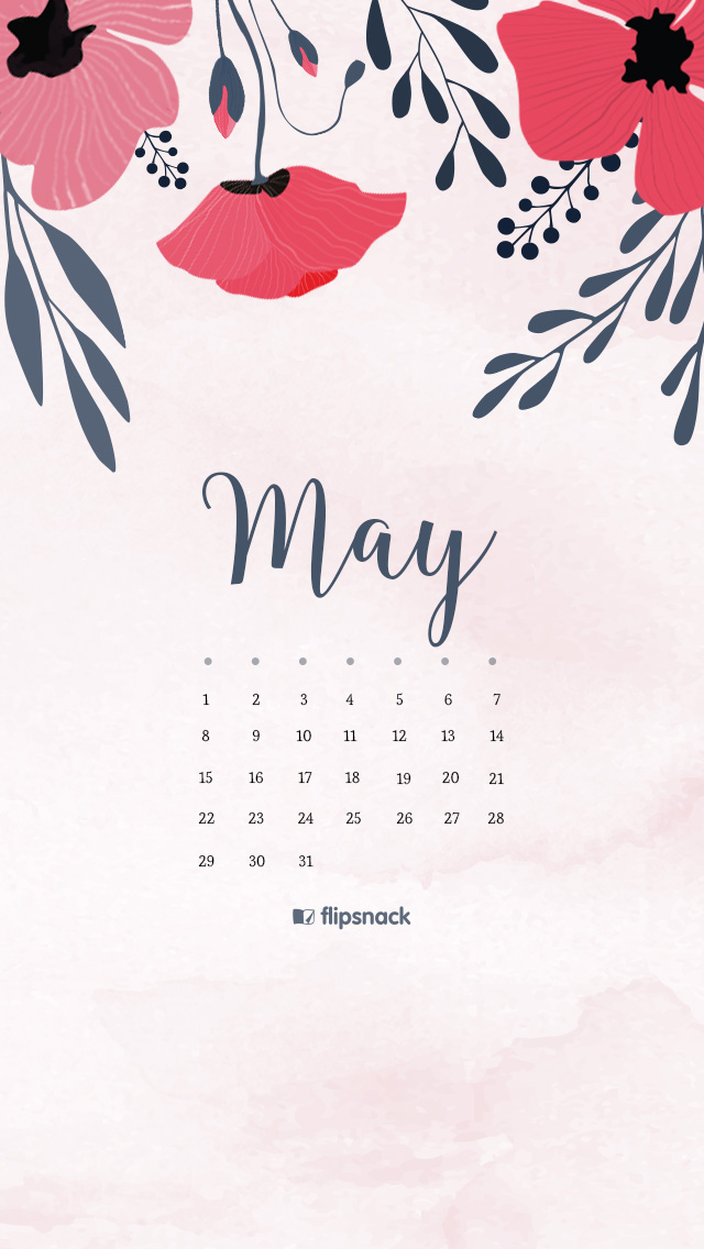 Calendar Wallpaper May : May free calendar wallpaper desktop background