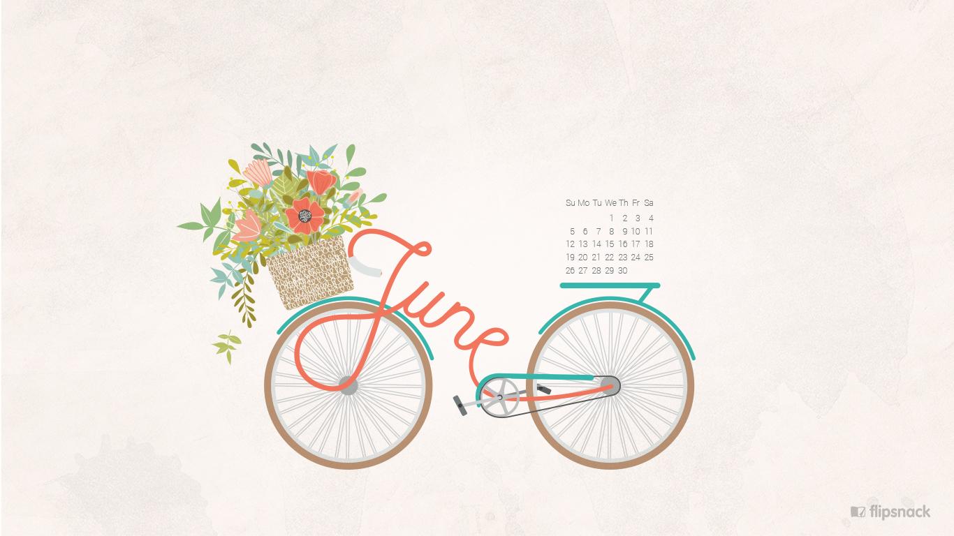 June 2016 Free Calendar Wallpaper  U2013 Desktop Background