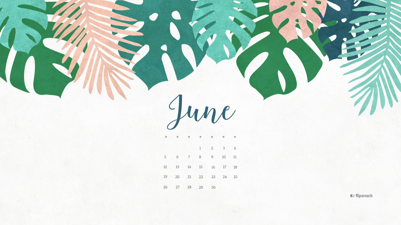 Calendar Background For Desktop : June free calendar wallpaper desktop background