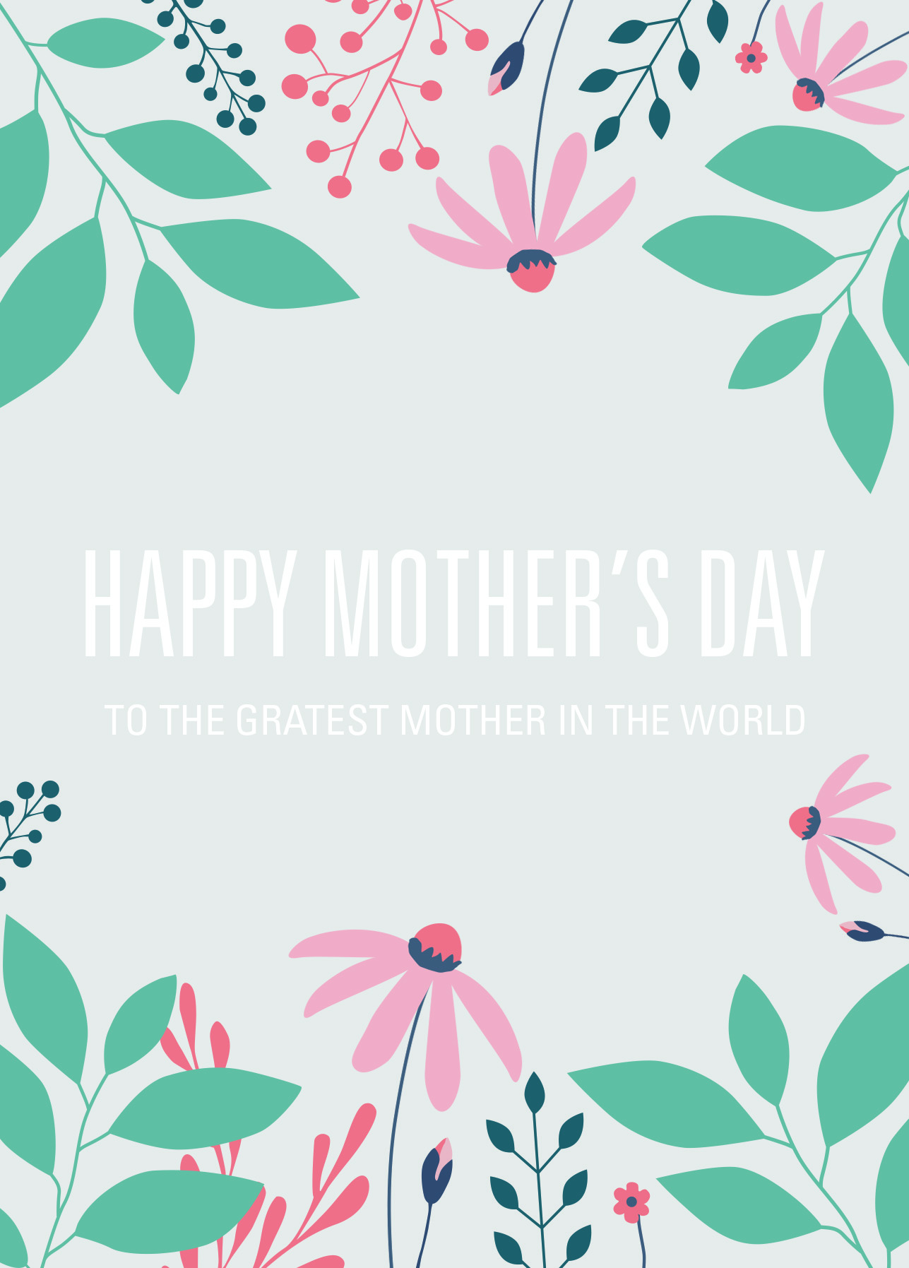 Free printable card template for mothers day while kristyandbryce Choice Image