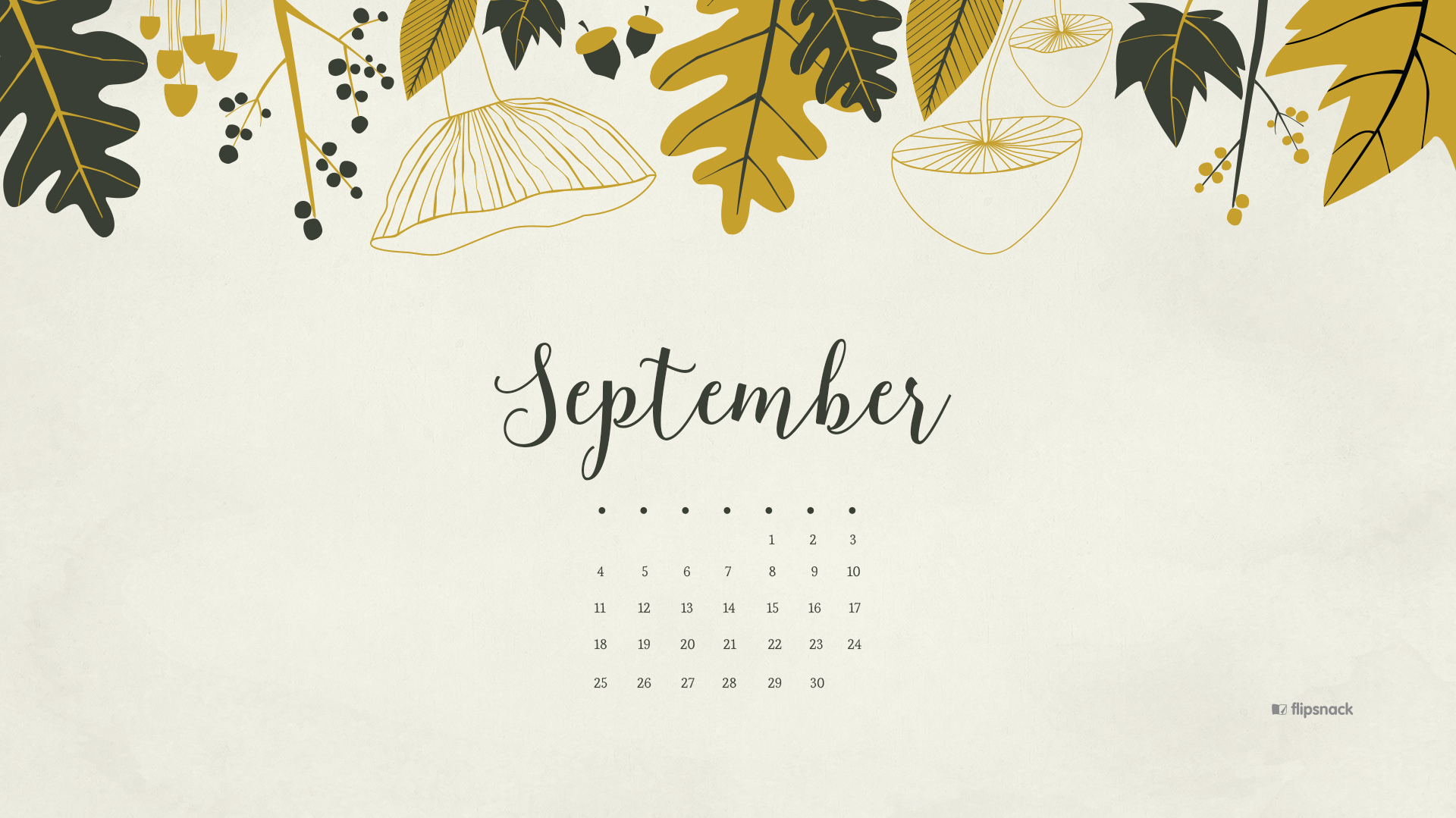 September 2016 Calendar   Tech Pretties | Dawn Nicole Designs?